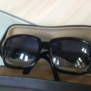 CHANEL Accessories - Authentic Chanel sunglasses with minor scratches.